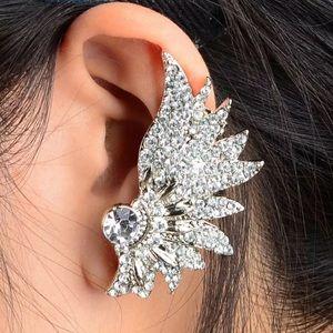 Nesta Crystal Wing Ear Cuff